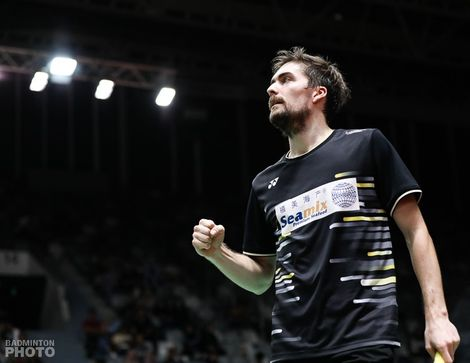 Badmintonspiller Mathias Christinsen
